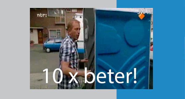 10 x beter